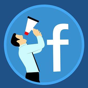 โฆษณา, Facebook, บัญชี, การตลาด, โทรโข่ง