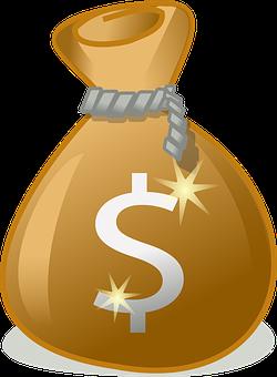 ถุง, เงิน, ความมั่งคั่ง, รายได้จากการ