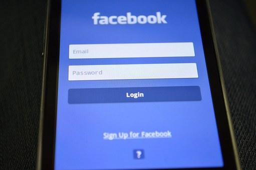 มาร์ทโฟน, Facebook, การเข้าสู่ระบบ
