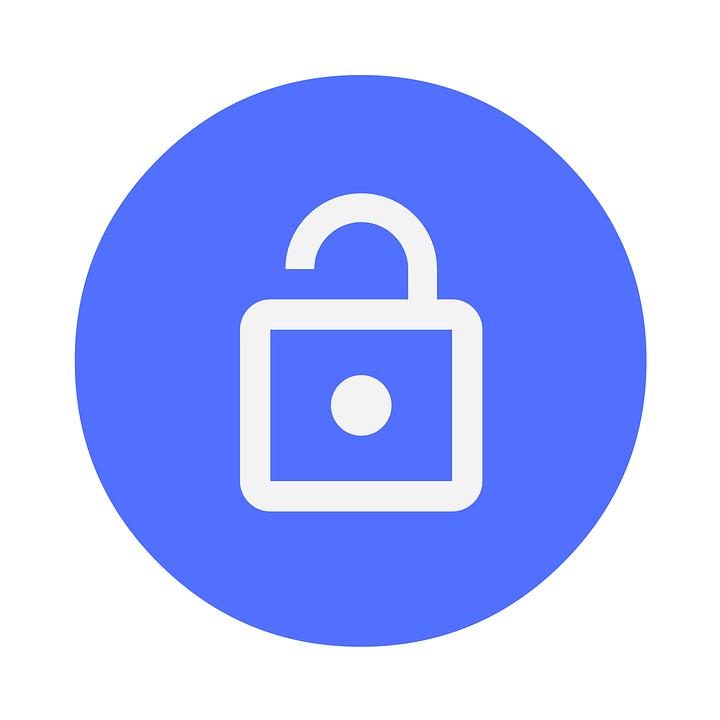 ไอคอน, การรักษาความปลอดภัย, ล็อค, เมฆ, ข้อมูล, ออนไลน์