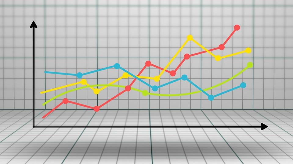 กราฟ, แผนภาพ, การเจริญเติบโต, เขียนรายงาน, สถิติ
