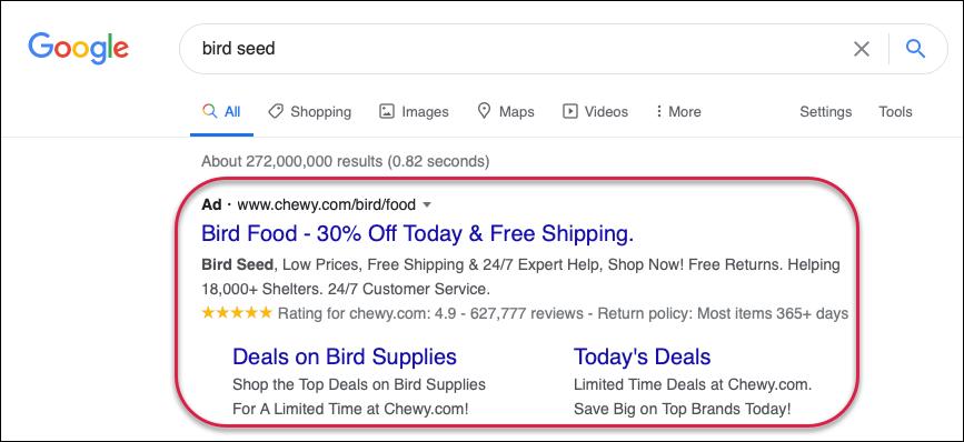 Google Ads: Search Campaign